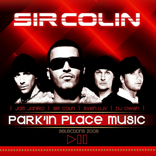 Parkinplacmeusicselections2008 Cover